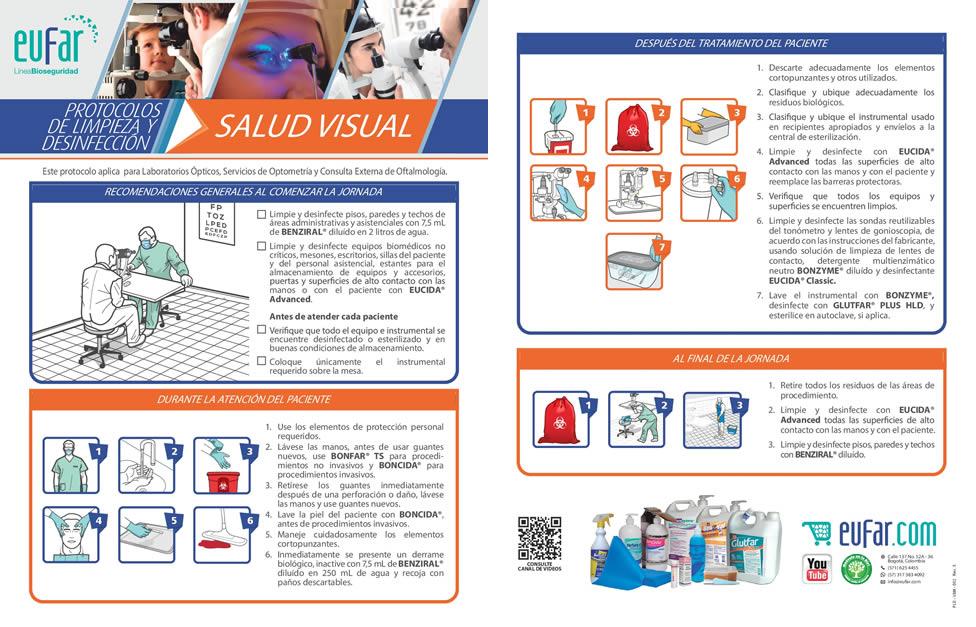 actividades diarias de bioseguridad en salud visual